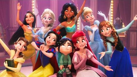 """Wifi Ralph """"Princesas"""" - Ingles"""