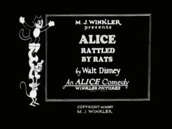 Alice Rattled by Rats