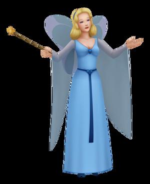 Blue Fairy KH 3D