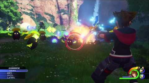 KINGDOM HEARTS III E3 2015