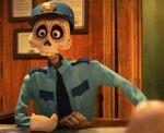 Agente de llegadas