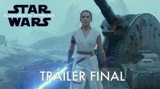 Star Wars El Ascenso de Skywalker Tráiler final castellano
