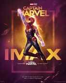 Captain Marvel poster Imax