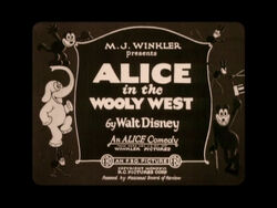 Alice in the Wooly West