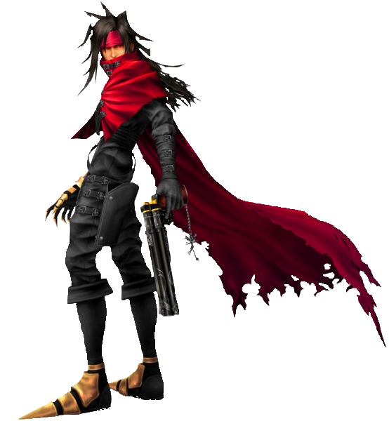 Vincent Valentine Was An Optional Playable Character In Final Fantasy VII,  And Main Character Of The Spin Off Dirge Of Cerberus  Final Fantasy VII .