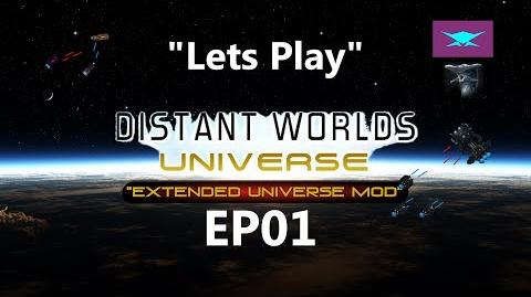 """Lets Play Distant Worlds Universe EP01 """"Extreme Difficulty"""""""