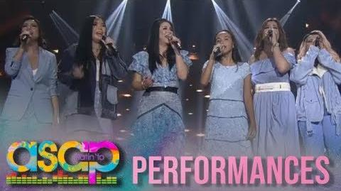 ASAP Inspiring blind singer takes the center stage with the Kapamilya singers