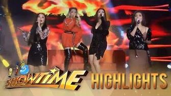"""It's Showtime Divas Yeng, Kyla, Angeline, and KZ light up the """"It's Showtime"""" stage"""