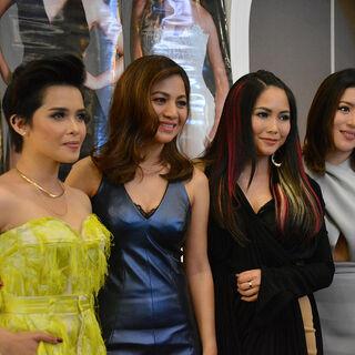 DIVAS during their second presscon of DIVAS Live in Manila