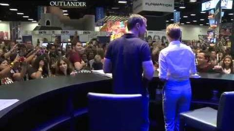 Big Brother 99/The Divergent Series: Insurgent Cast at Comic Con