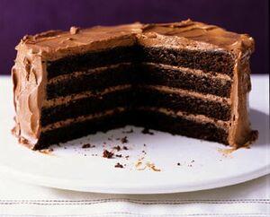 Chocolatelayercake