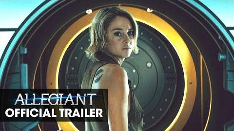 "The Divergent Series Allegiant Official Trailer – ""Tear Down The Wall"""