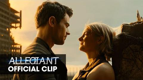 """The Divergent Series Allegiant Official Clip – """"Heights"""""""