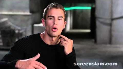 Divergent Theo James on his Character's Physical Abilities (Exclusive Behind the Scene Featurette)