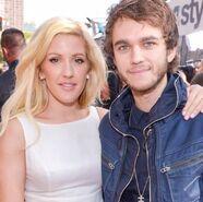 Zedd and Ellie Goulding