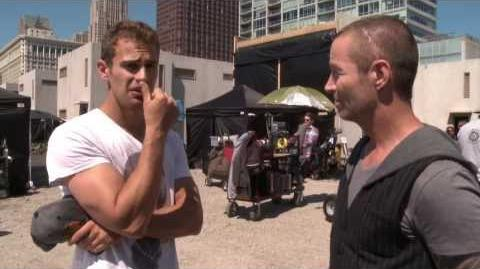 Divergent a Behind the Scene First Look
