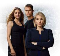 Tris, Tobias and Jeanine