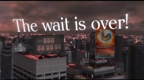 ALLEGIANT - Veronica Roth's midnight message to fans