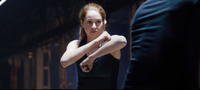 Tris about to fight Peter