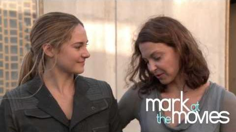 Divergent behind the scenes with Ashley Judd and Shailene Woodley