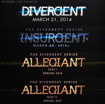 User blog:Big Brother 99/Divergent Series movie release dates.   Divergent  Wiki   Fandom