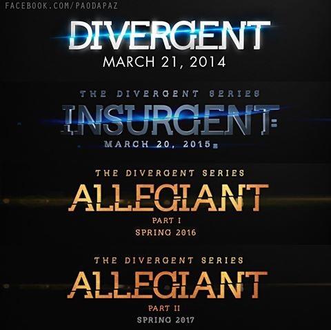 Divergent release date