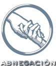 Escudo de Abnegación Color Plateado