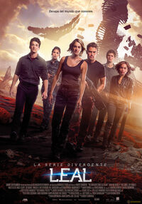 Divergente La Serie Leal poster final