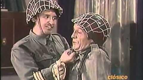 El Soldado Desobligado ¡¡Chespirito!! Idioma Original
