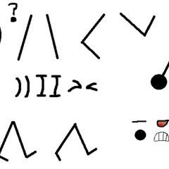 The main character ( The stickman ) moves and sprites.