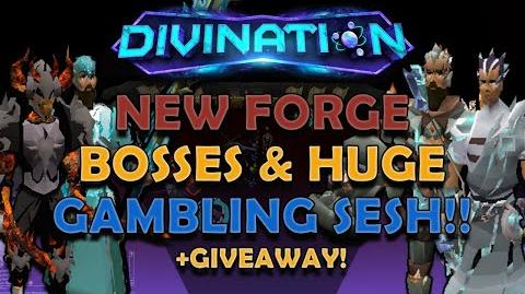 4 AWESOME NEW ELEMENTAL FORGE BOSSES & HUGE GAMBLING SESSION!!! + GIVEAWAY!! -Divination RSPS-