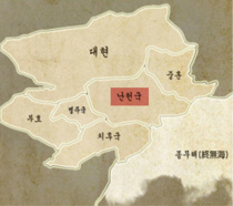 Nan-hun map