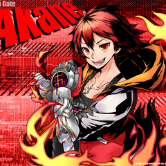 Celebration bg for Akane's win in Google Play's 2013