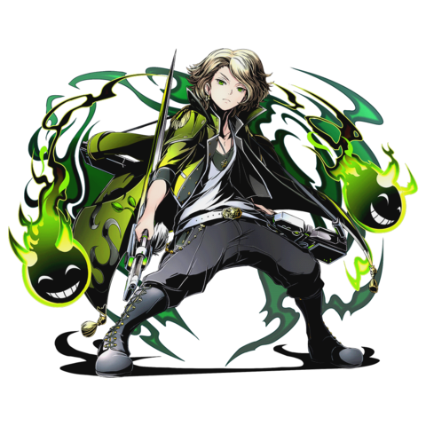 High-res Wind Demon General Yasutsuna without bg