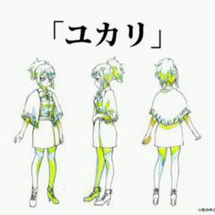 Anime full body concept art