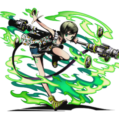 High-res Midori, Staff-Wielder of the Gale without bg