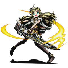 High-res Hikari, Sword-Wielder of the Light without bg
