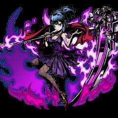 High-res Yukari, Scythe-Wielder of Everlasting Darkness without bg