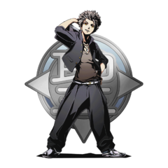 High-res Ginji: Divine Academy without bg