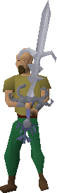 Armadyl Godsword Wielded
