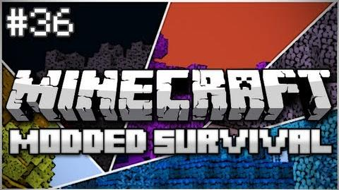 Minecraft Modded Survival Let's Play Ep. 36 - Pet Bunny Friends!