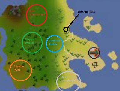 Hunter locations22