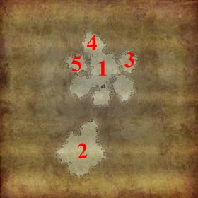 D2 Карта Замок Кали нумерация