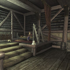 2 этаж, спальня и Линда