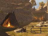Лагерь разбойников