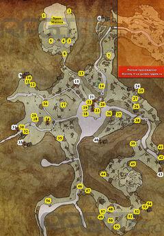 Карта Осколья 1-3