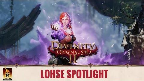 Divinity Original Sin 2 - Spotlight Origin Stories - Lohse
