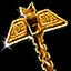 DOS2 Иконка Палица Пламенное правосудие
