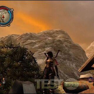 Игровой интерфейс консольной версии Divinity II.
