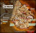 D2 Карта Деревня Осколья
